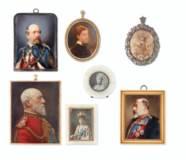 A GROUP OF SEVEN PORTRAIT MINI